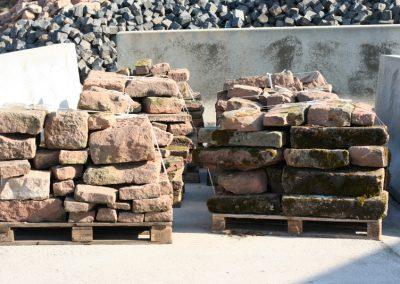 Altes Sandsteinmauerwerk