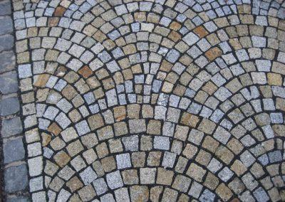 Granit Mosaikpflaster