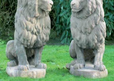 Skulpturen und Garten Ornamente