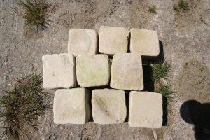 Sandsteinpflaster 8:11 gekollert_2