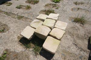 Sandsteinpflaster 8:11 gekollert_4