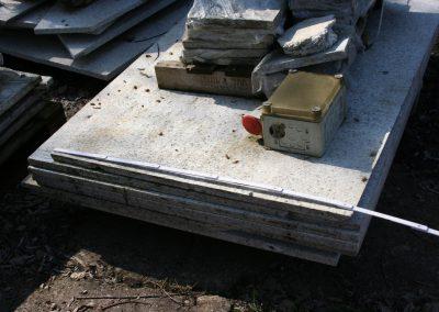 Granitplatten gebraucht